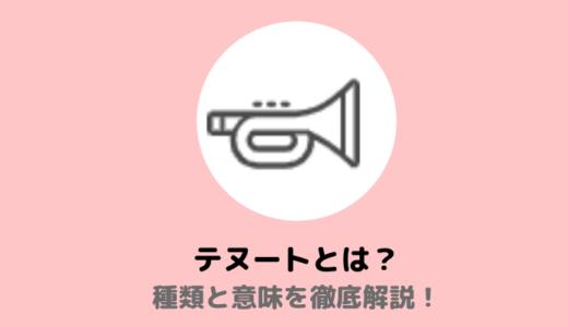 テヌートの種類と意味まとめ【tenuto,sostenuto,ritenuto】